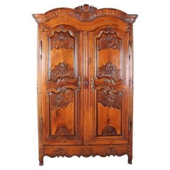 French 18th Century Armoire