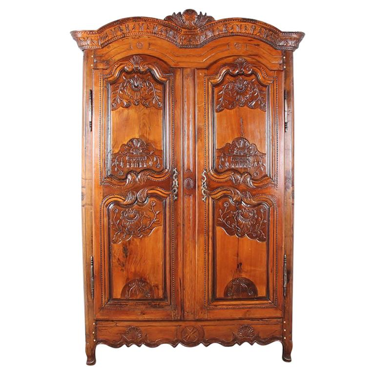 French 18th Century Armoire For Sale