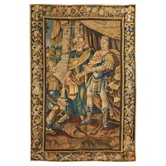 French 18th Century Aubusson Tapestry, Circa 1750
