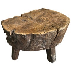 French 18th Century Billot, Chopping Block