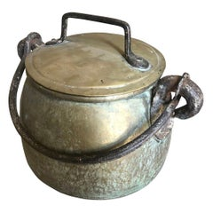 French 18th Century Cauldron