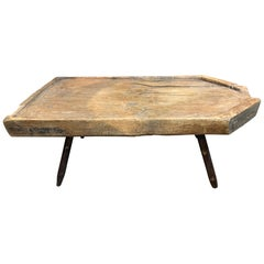 French 18th Century Cheese Board, Coffee Table