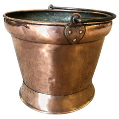 French 18th Century Copper Bucket