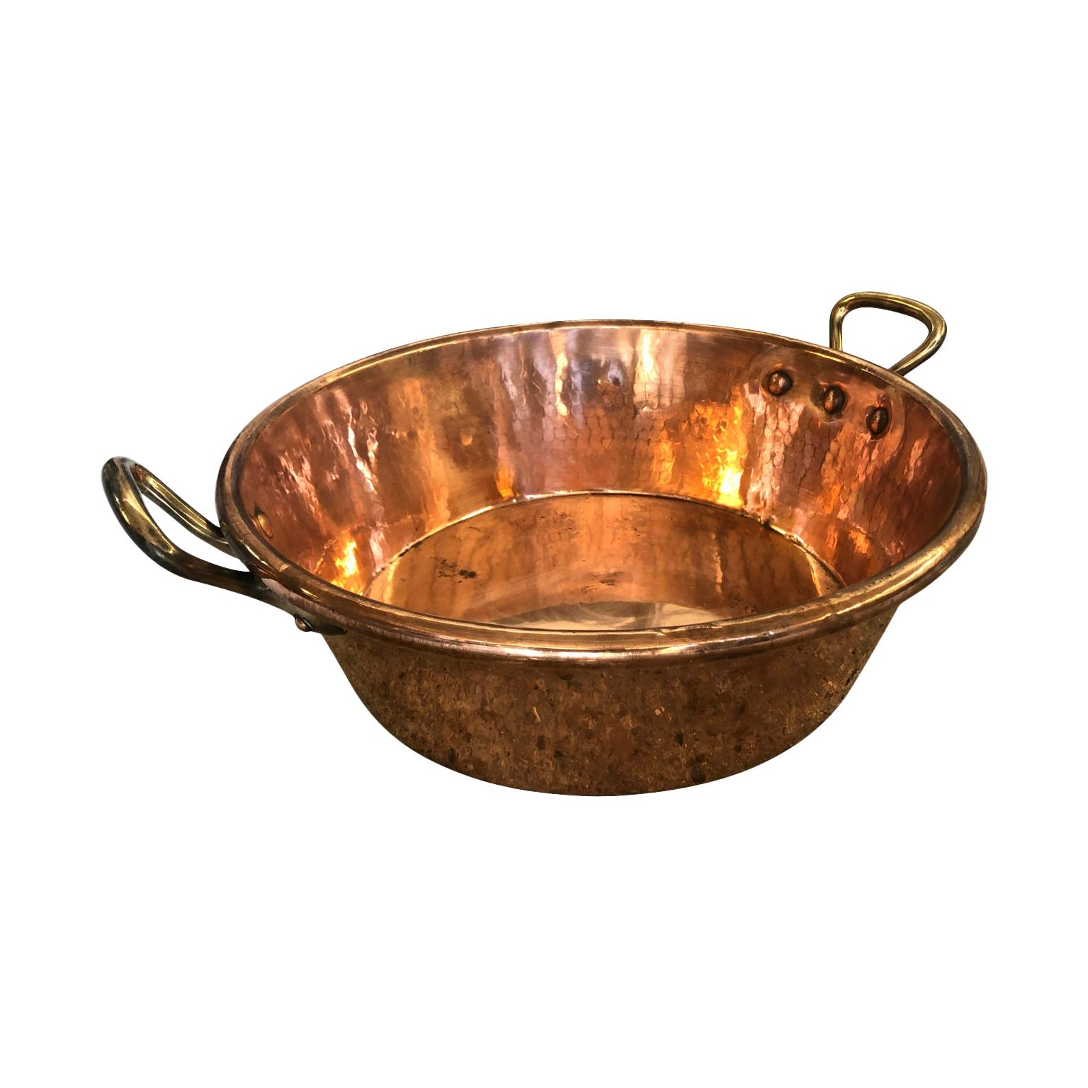 French 18th Century Copper Pan
