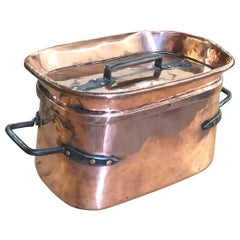 French 18th Century Copper Pressure Cooker