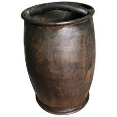 French 18th Century Copper Wine Measure