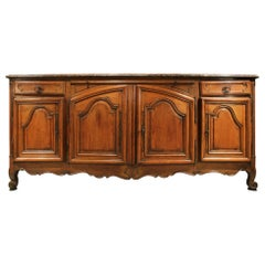 French 18th Century Country French Louis XV Period Walnut Buffet