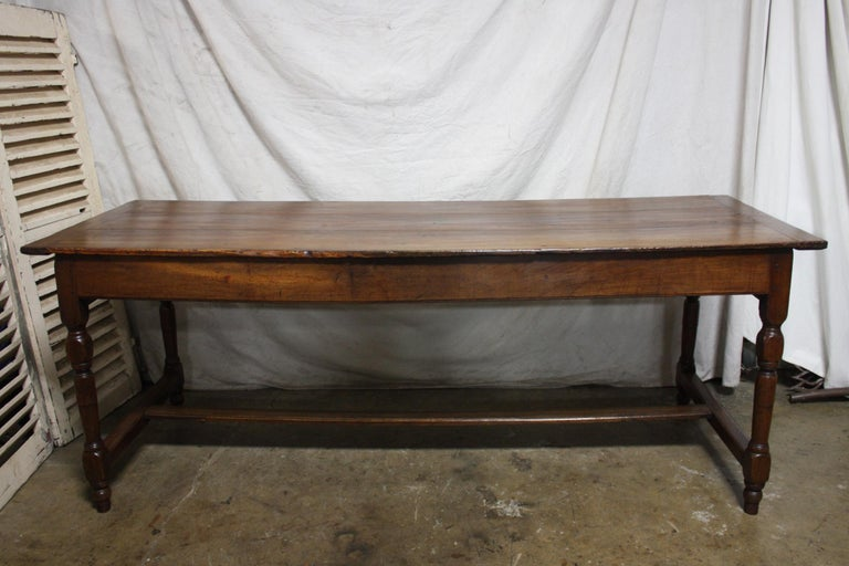 French 18th Century Farm Table For Sale 6
