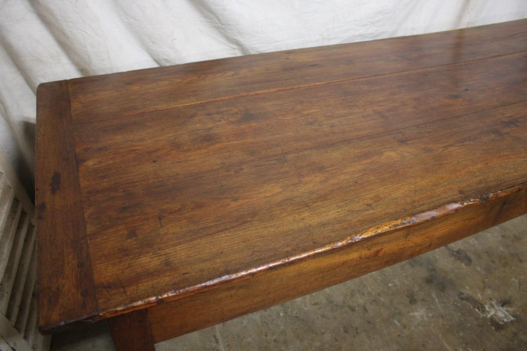 French 18th Century Farm Table For Sale 7