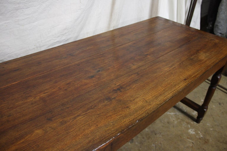 French 18th Century Farm Table For Sale 8
