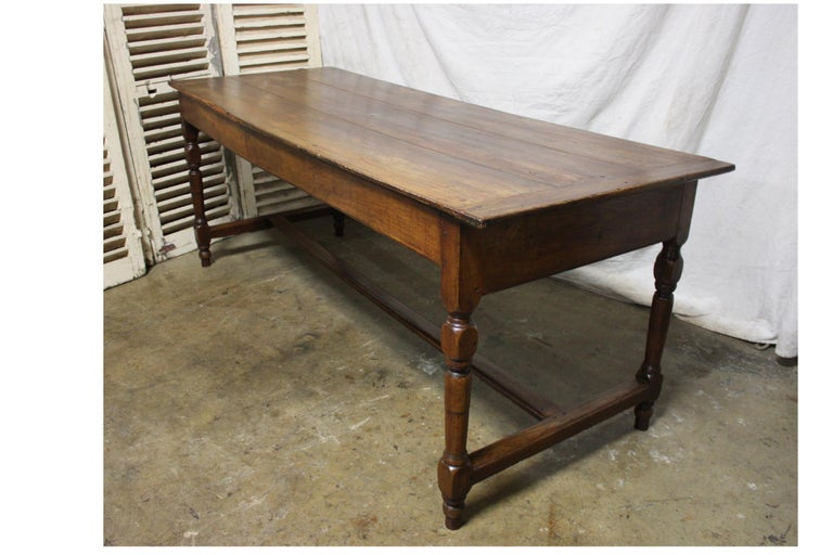 Rustic French 18th Century Farm Table For Sale