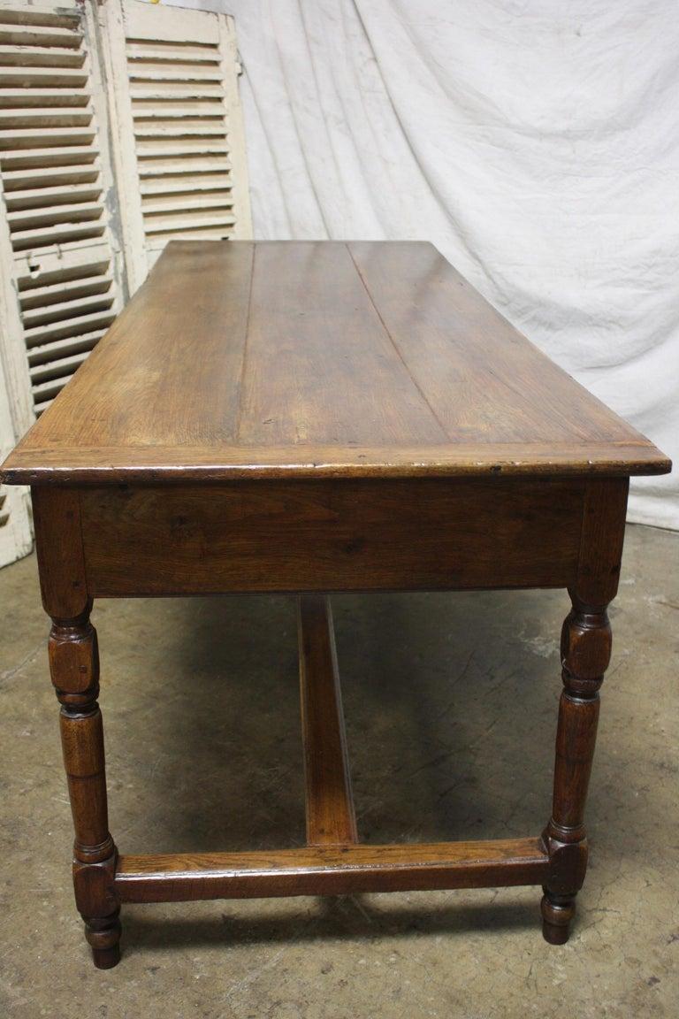 French 18th Century Farm Table In Good Condition For Sale In Atlanta, GA