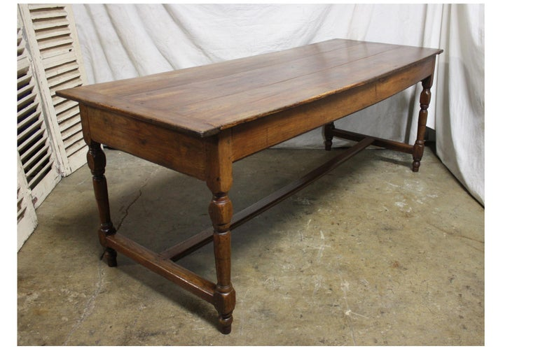 French 18th Century Farm Table For Sale 1