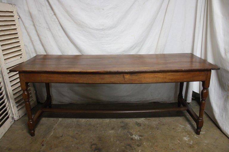 French 18th Century Farm Table For Sale 3