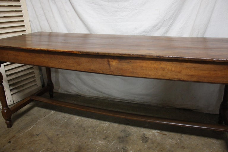 French 18th Century Farm Table For Sale 4