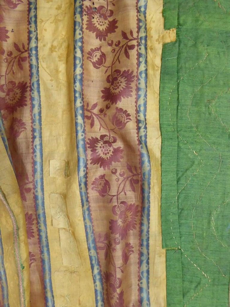 Women's French 18th Century Interior Robe Volante Dress Louis XV Period For Sale