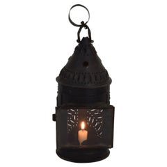 French 18th Century Iron Lantern