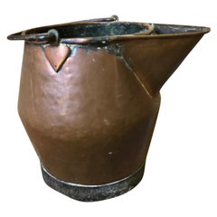French 18th Century Large Scale Copper Pitcher