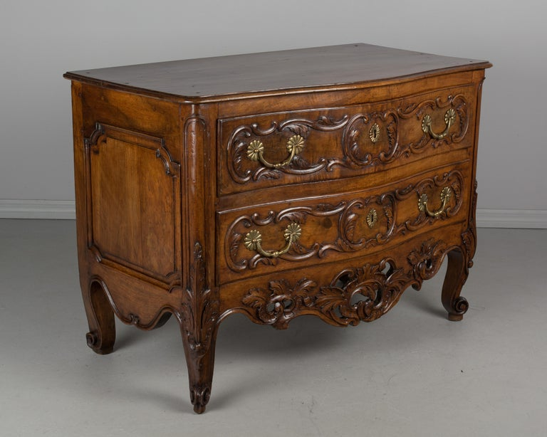 European French 18th Century Louis XV Period Commode or Chest of Drawers For Sale