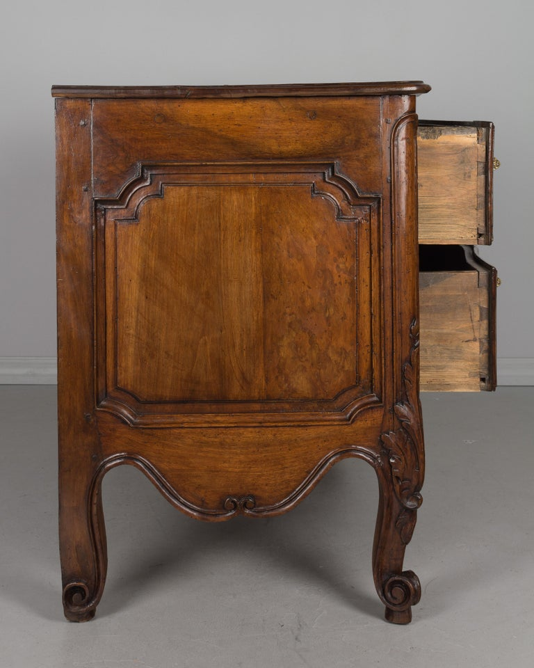 Bronze French 18th Century Louis XV Period Commode or Chest of Drawers For Sale