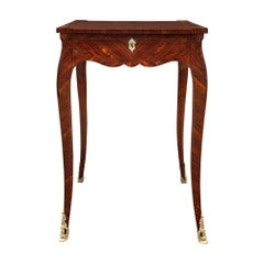 French 18th Century Louis XV Period Rosewood Side Table