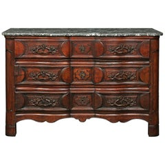French 18th Century Louis XV Period Walnut Chest