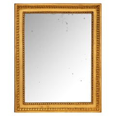 French 18th Century Louis XVI Period Giltwood Mirror