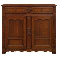 French 18th Century Louis XVI Period Oak Buffet