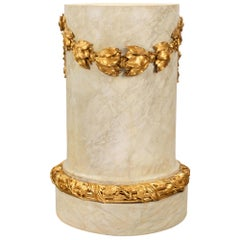 French 18th Century Louis XVI Period Pedestal Column