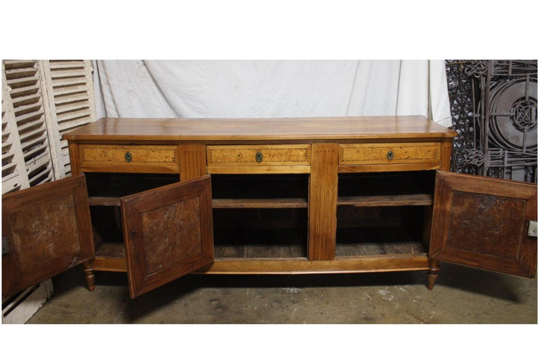 French 18th Century Louis XVI Period Sideboard For Sale 7