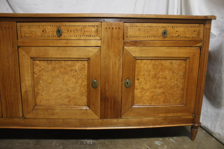 French 18th Century Louis XVI Period Sideboard In Good Condition For Sale In Atlanta, GA
