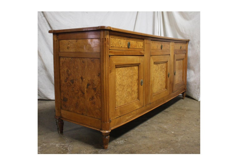 French 18th Century Louis XVI Period Sideboard For Sale 3
