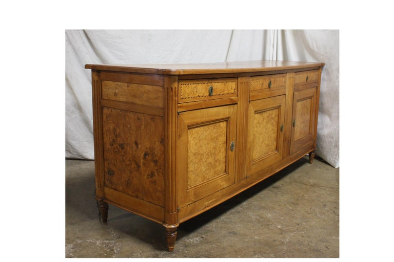 French 18th Century Louis XVI Period Sideboard For Sale 4