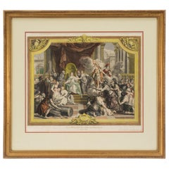 French 18th Century Louis XVI Style Print