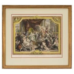 French 18th Century Louis XVI Style Print