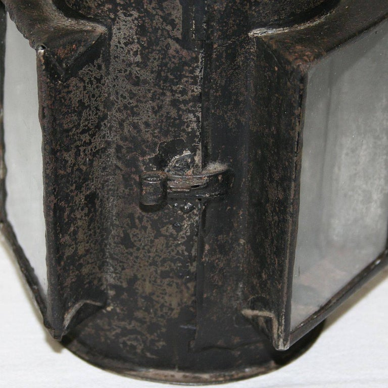 French 18th Century Metal Lantern For Sale 5