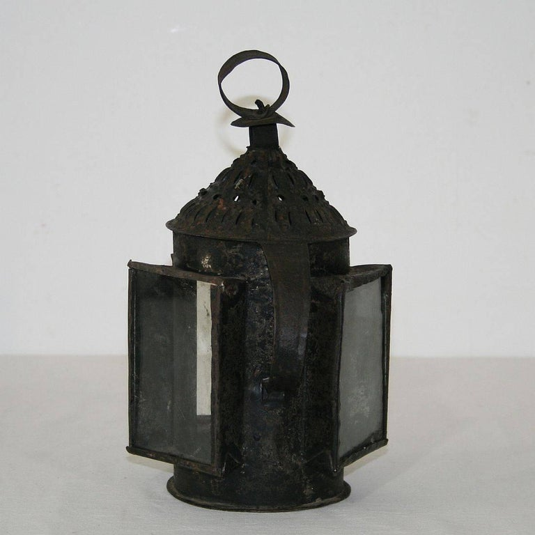 18th Century and Earlier French 18th Century Metal Lantern For Sale