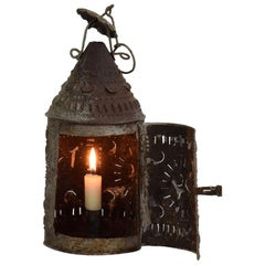 French 18th Century Metal Lantern