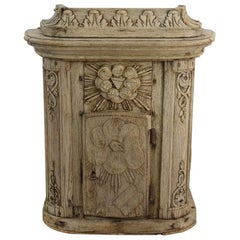 French 18th Century Oak Baroque Tabernacle