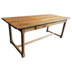French 18th Century Oak Farmhouse Refectory Table