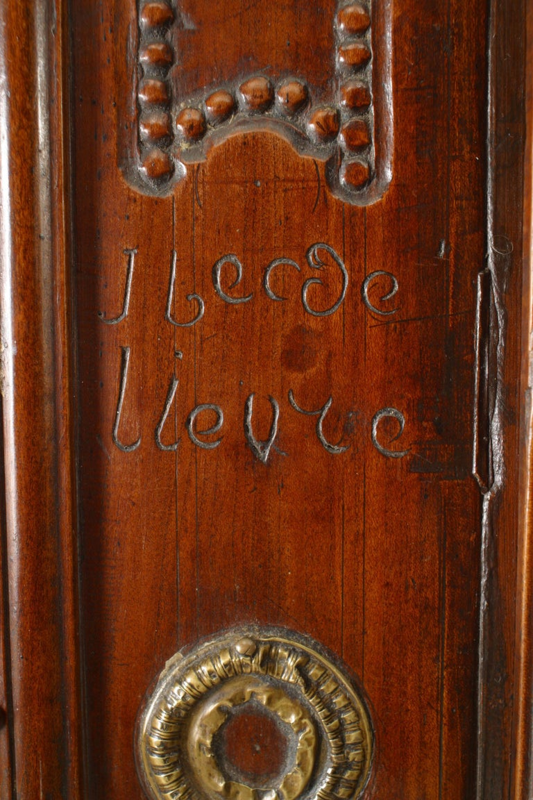 French 18th Century Provincial Walnut Armoire For Sale 3