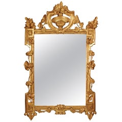 French 18th Century Régence Period Provançal Style Giltwood Mirror