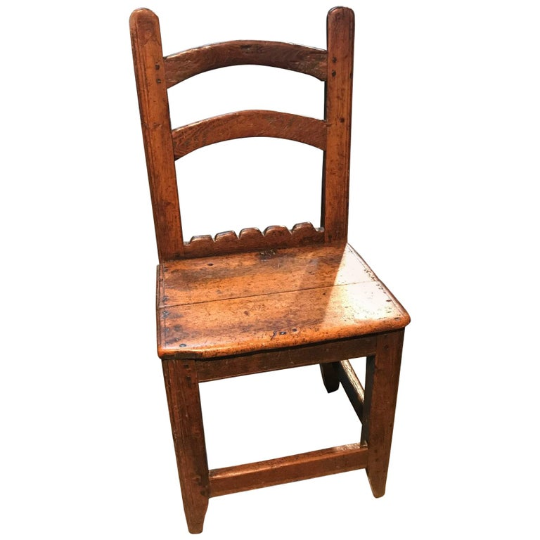 French 18th Century Side Chair For Sale