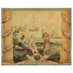 French 18th Century Tapestry, circa 1790, 6'5 x 5'5