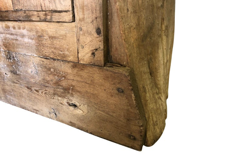 French 18th Century Tree Trunk Armoire For Sale 6