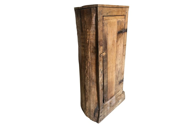 French 18th Century Tree Trunk Armoire For Sale 5