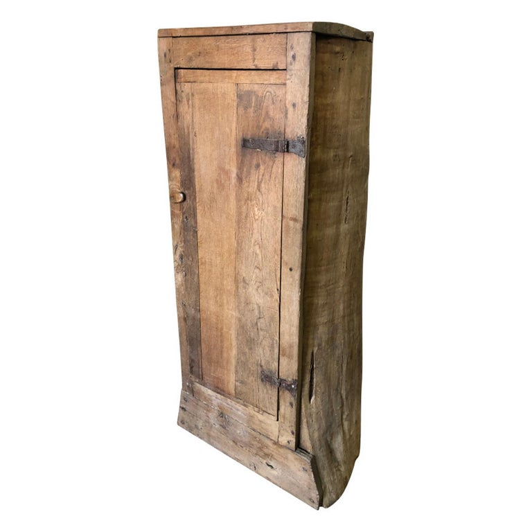French 18th Century Tree Trunk Armoire For Sale