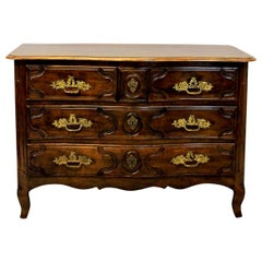 French 18th Century Walnut Commode