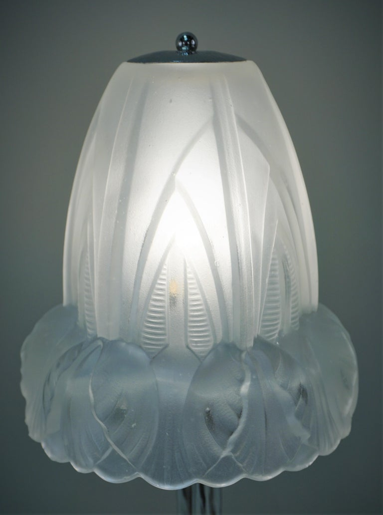 Early 20th Century French 1920s Art Deco Table Lamp For Sale