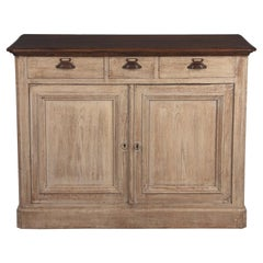 French 1920s Commercial Painted Oak Buffet